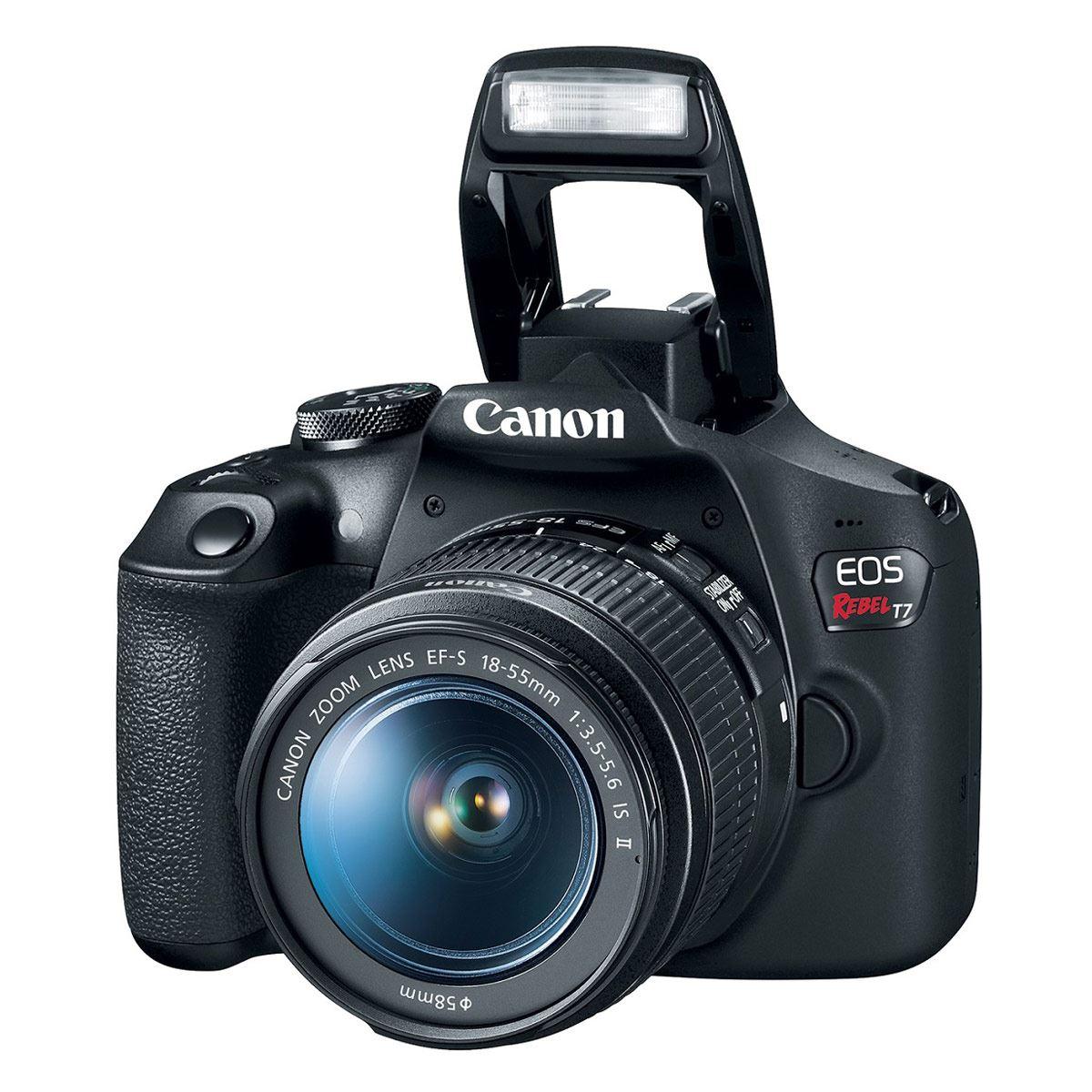 Cámara Canon T7 EF-S 18-55 IS