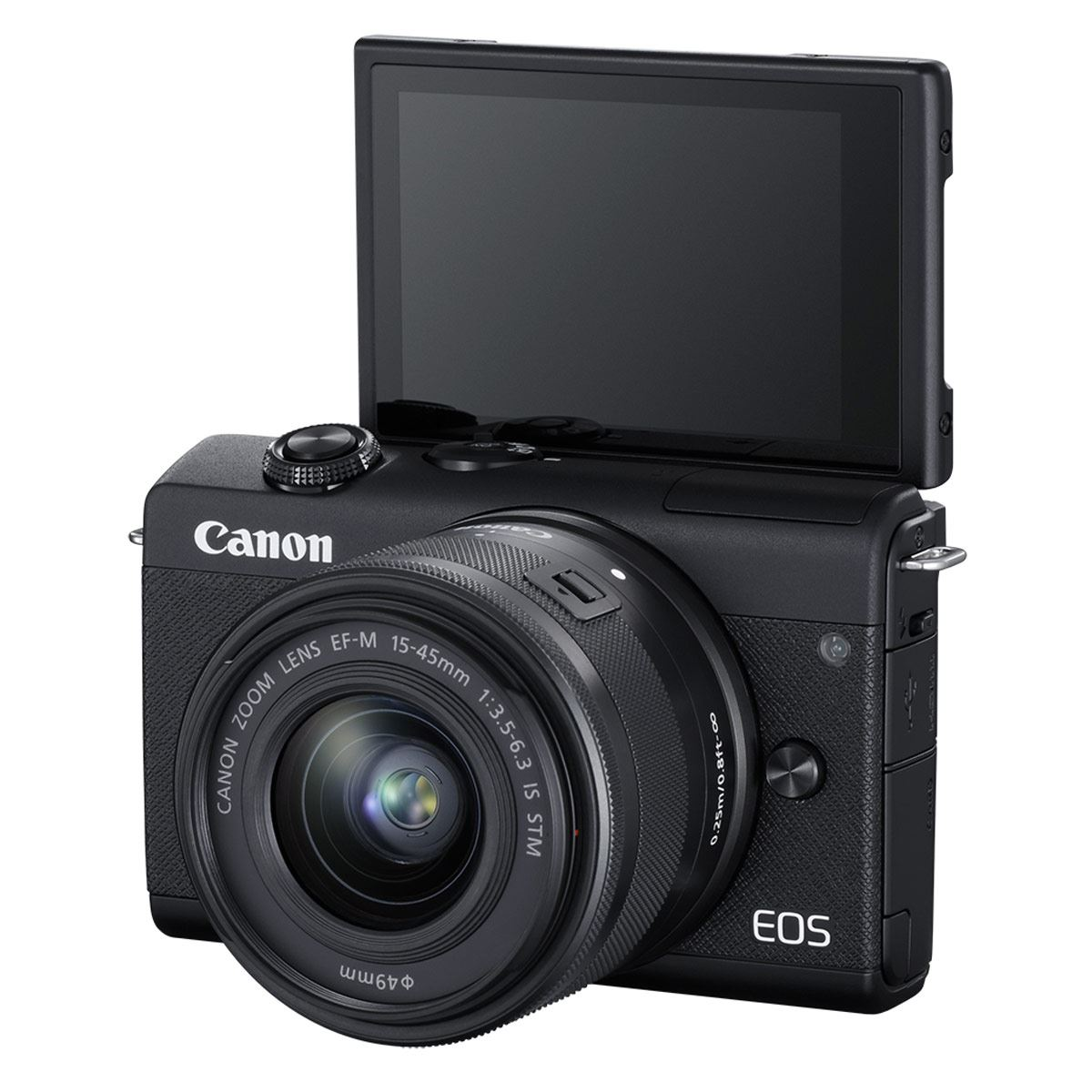 Cámara Canon EOS M200 C/Lente EF-M 15-4