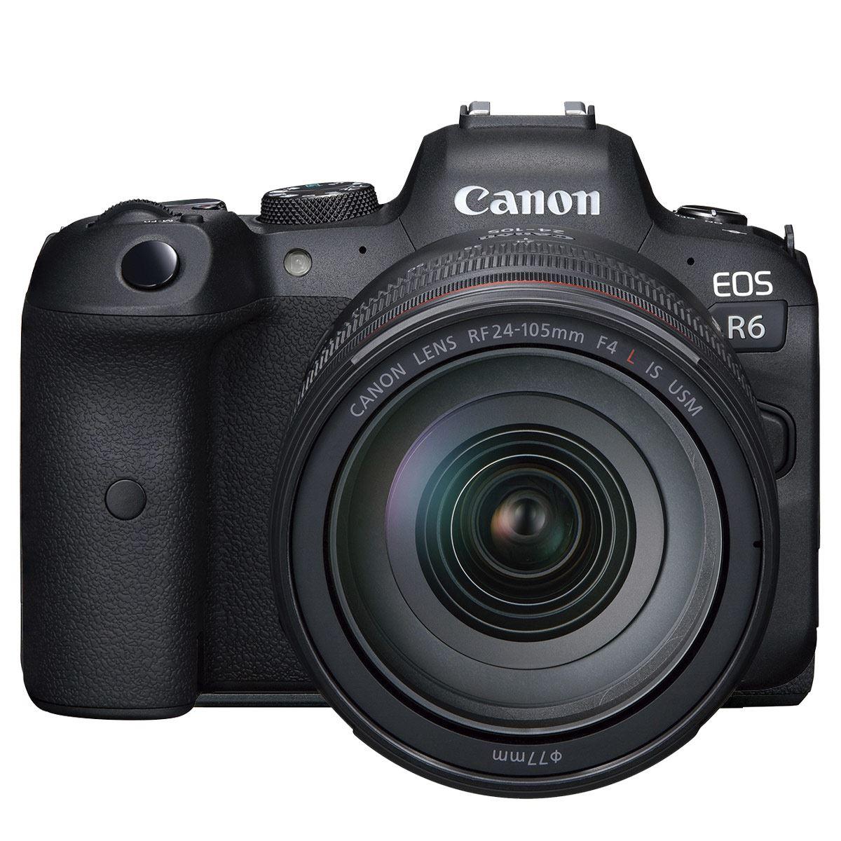 Cámara Canon EOS R6 + Lente RF 24-105mm F4 L IS USM