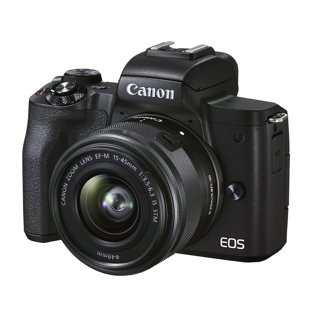 Cámara Canon EOS M50 Mark II EF-M 1