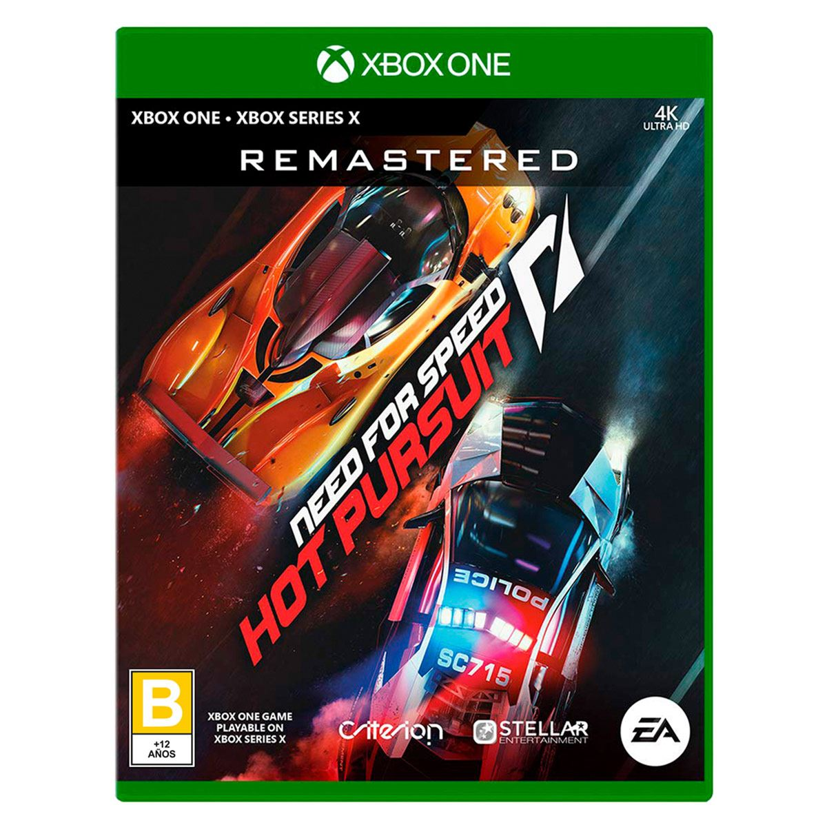 Xbox One Need For Speed Hot Pursuit