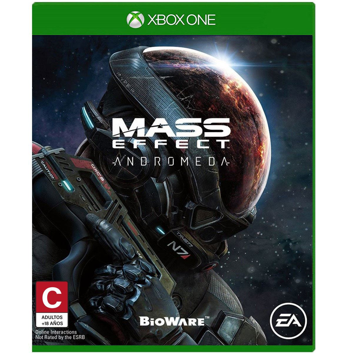 Xbox one mass effect andromeda  - Sanborns