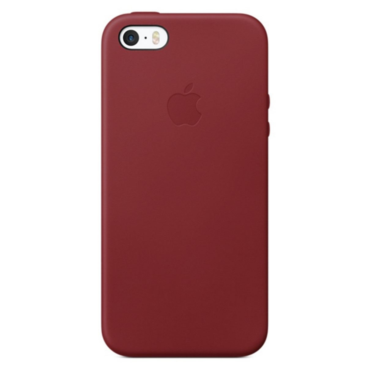 Funda iphone se roja piel  - Sanborns