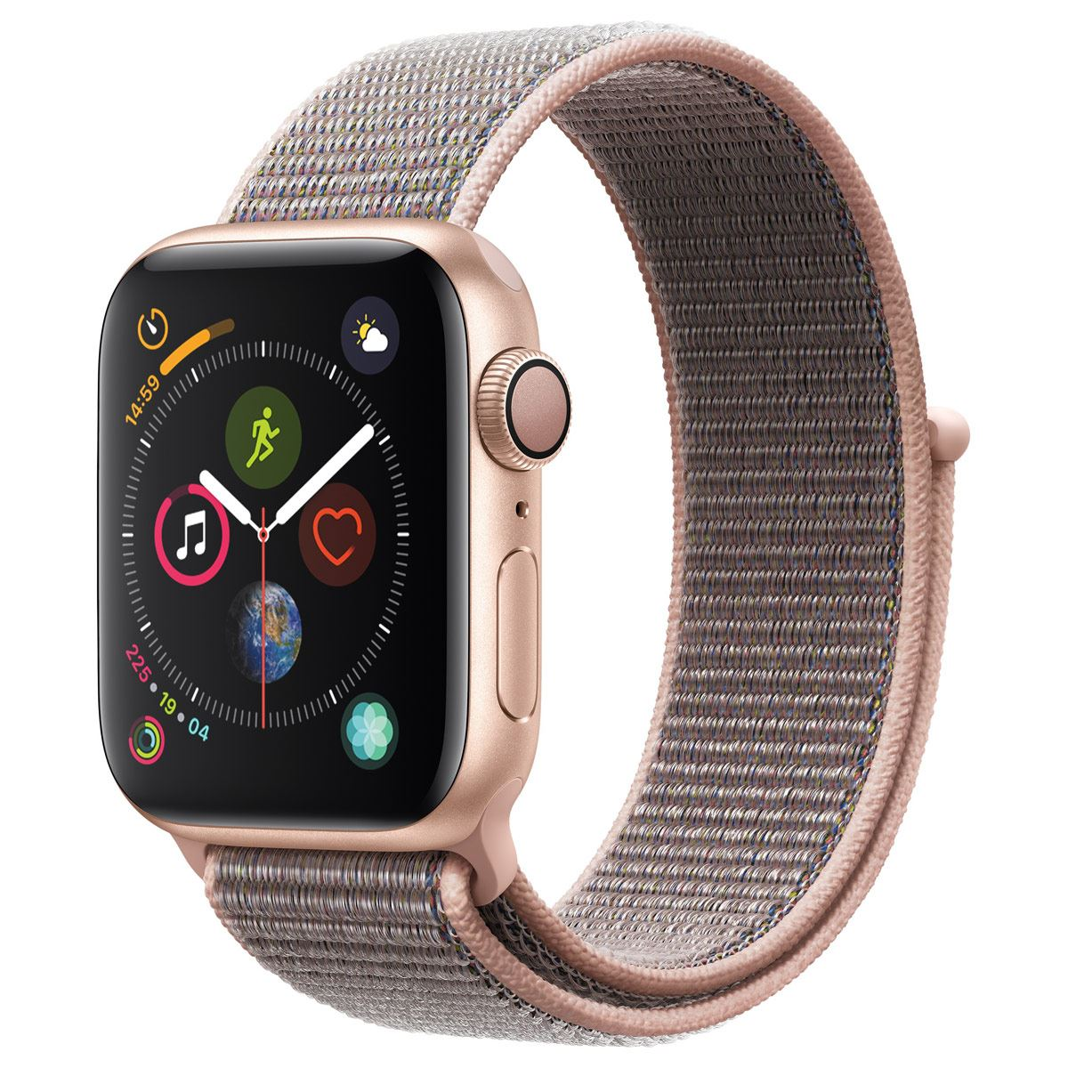 Apple Watch Serie 4 44mm Color Oro Correa Deportiva