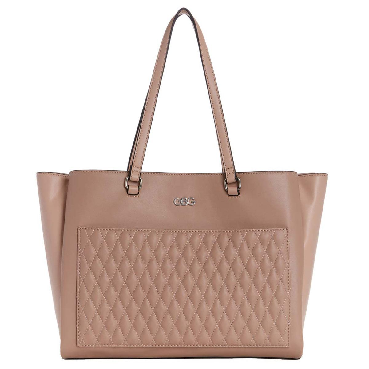 Bolso G By Guess Lionel Tote  rosa multi
