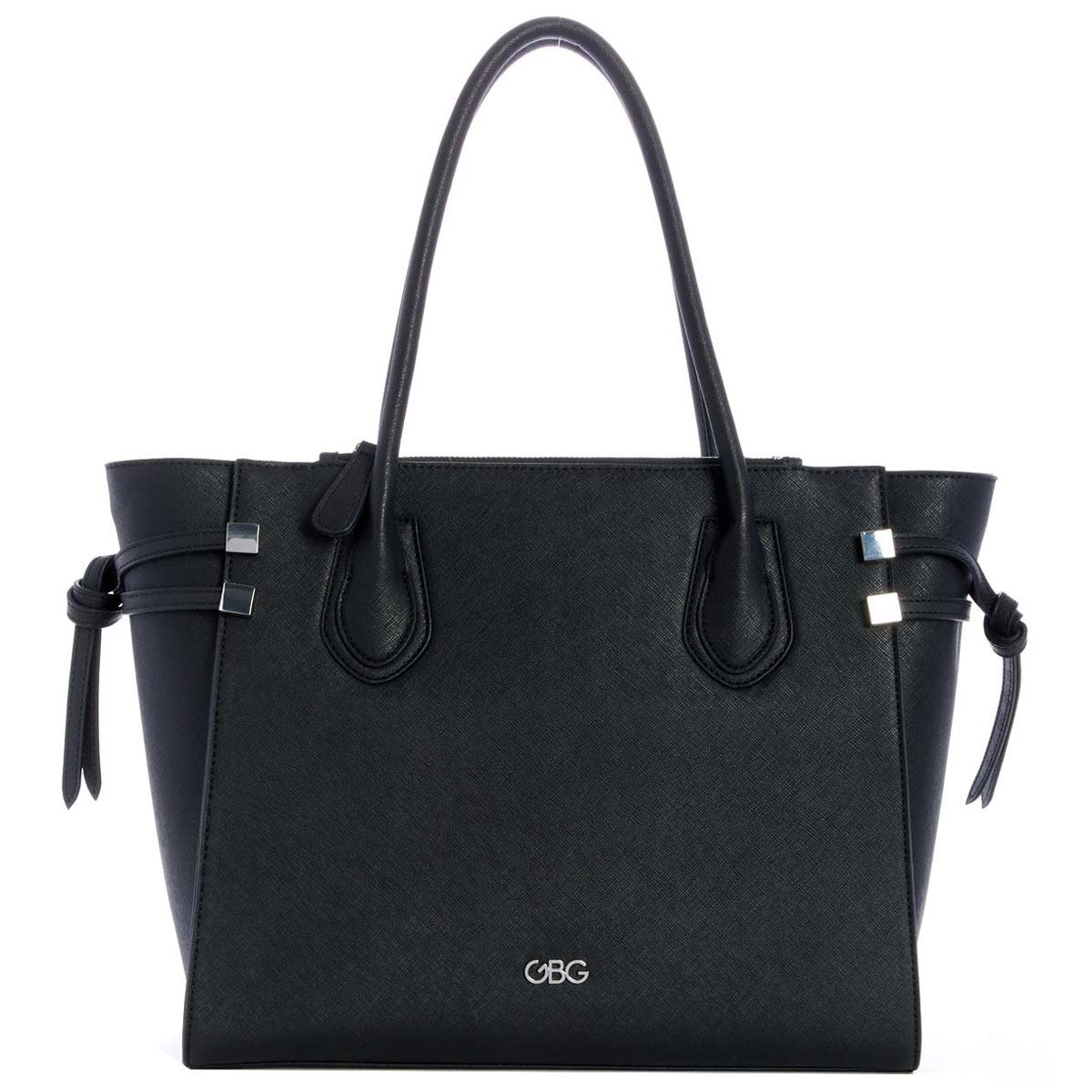 Bolso G By Guess Marquis Tote  negro