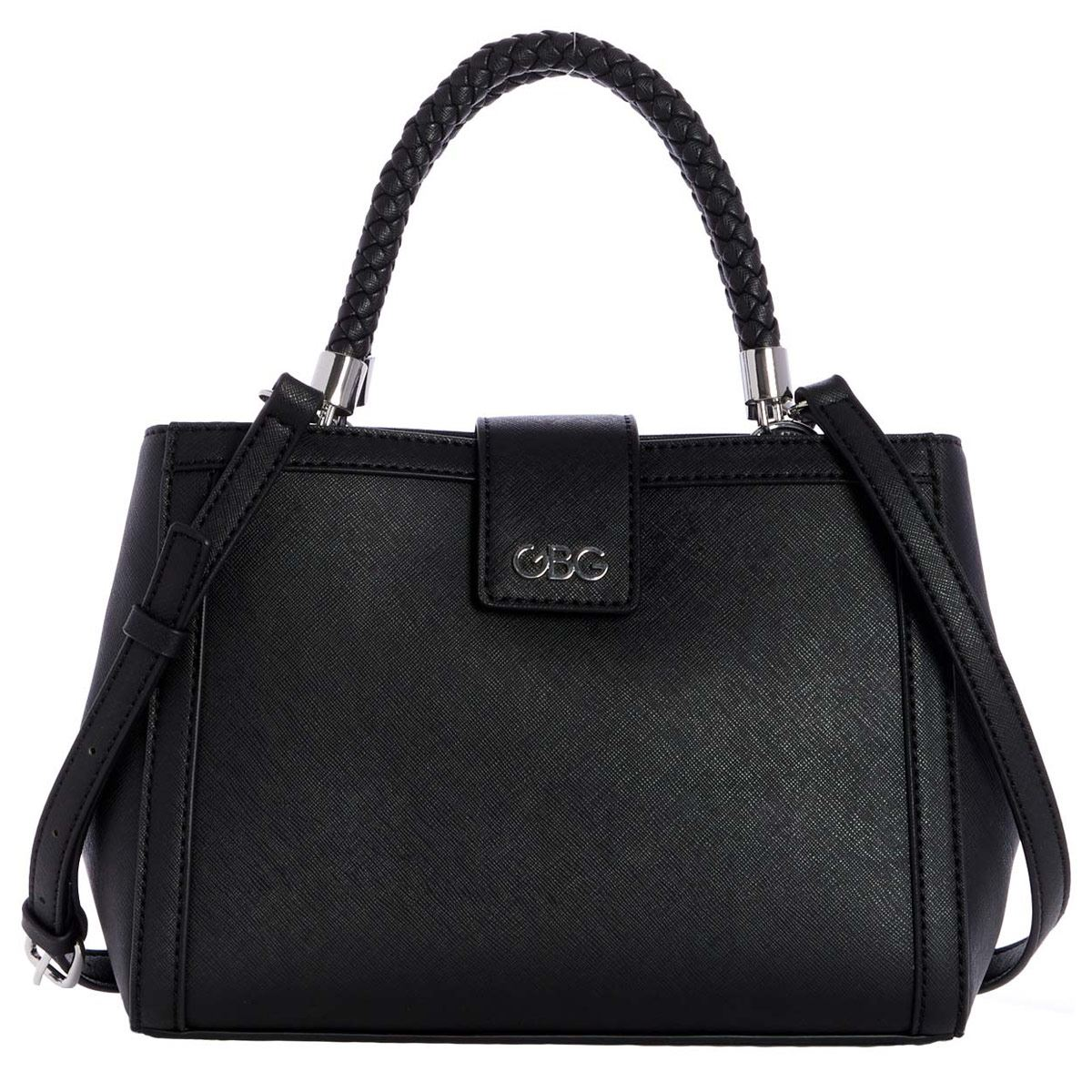 Bolso G By Guess Satchel  negro
