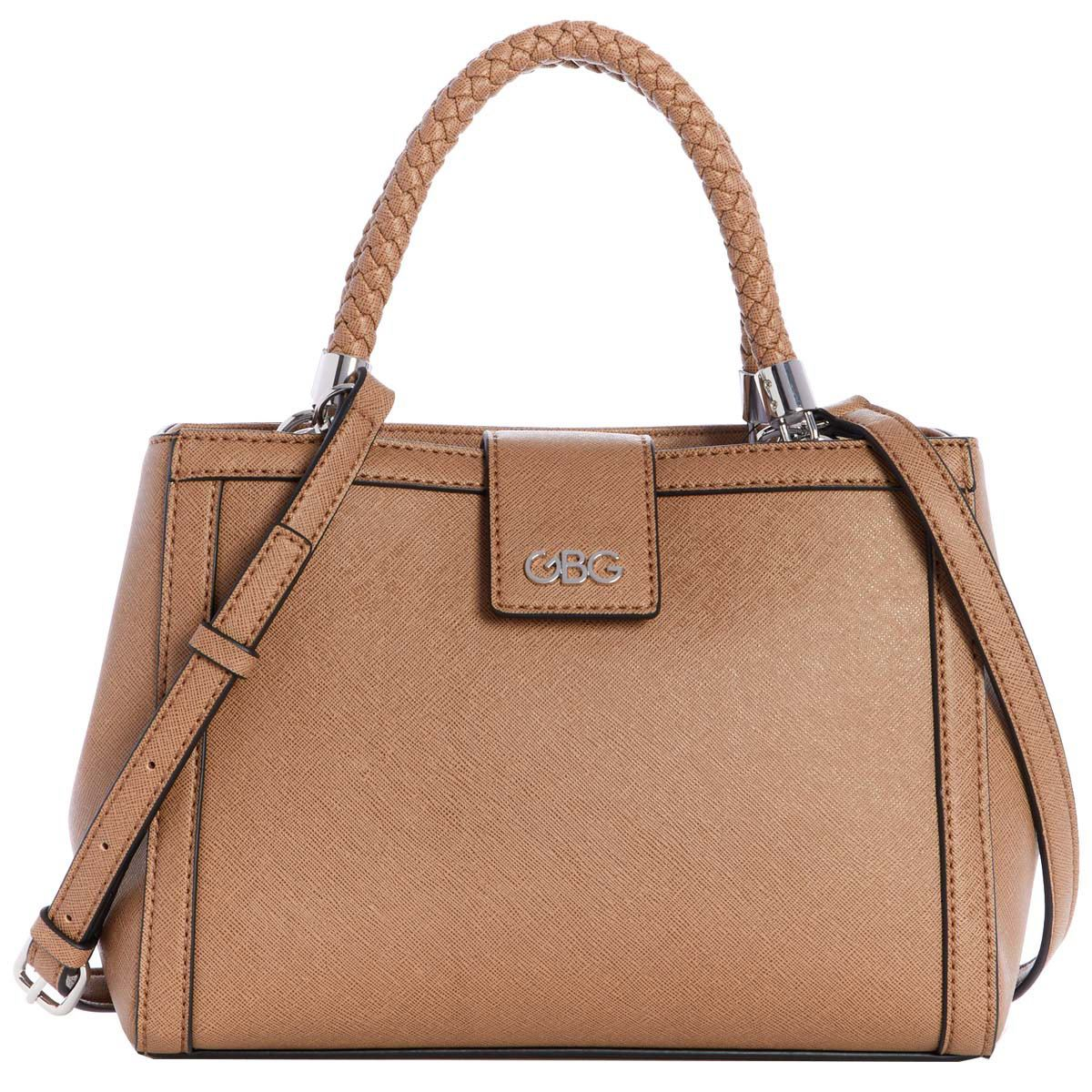 Bolso G By Guess Analia Satchel  café