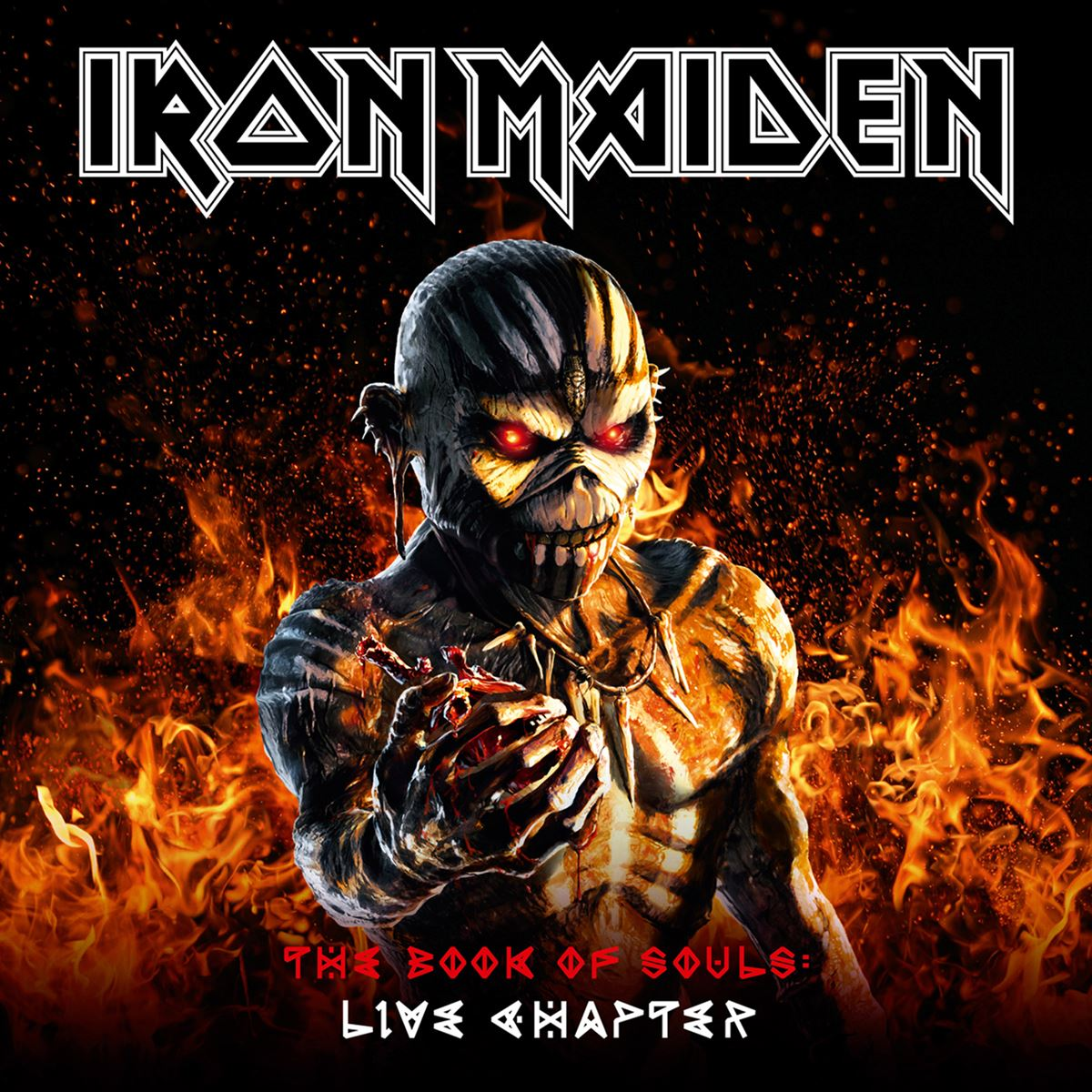 Cd2 iron maiden- the book of souls live chapter  - Sanborns