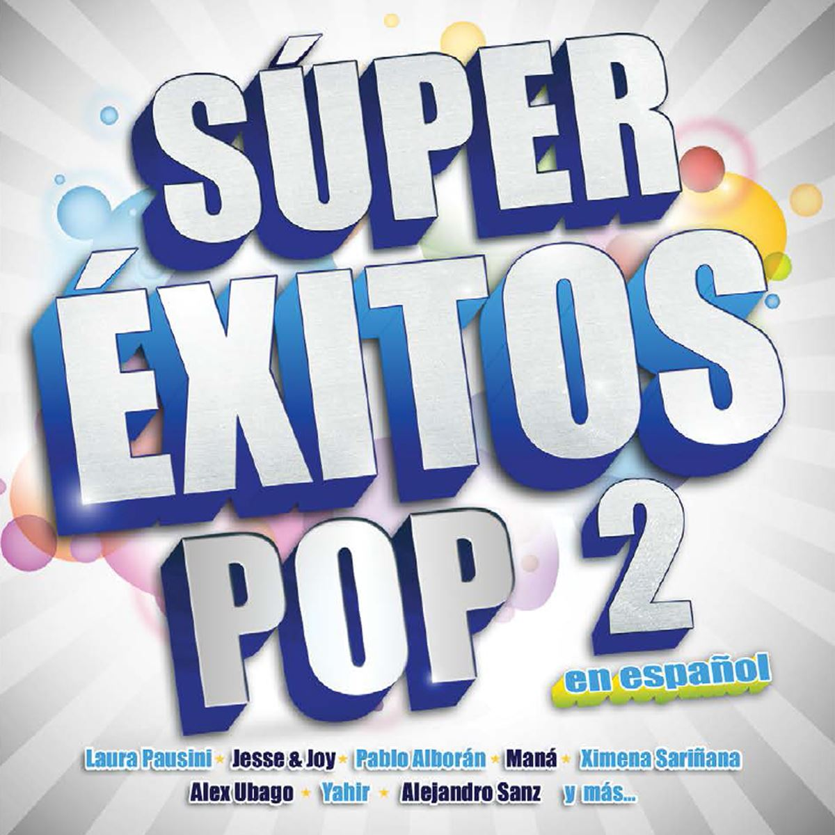 CD Súper Éxitos Pop Vol.II