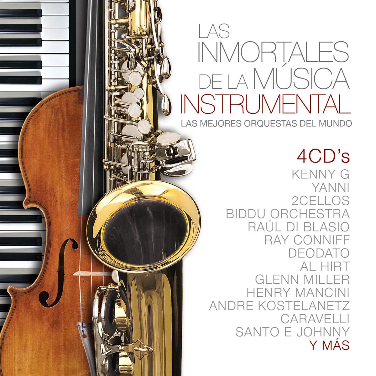 4cd las inmortales de la música instrumental  - Sanborns