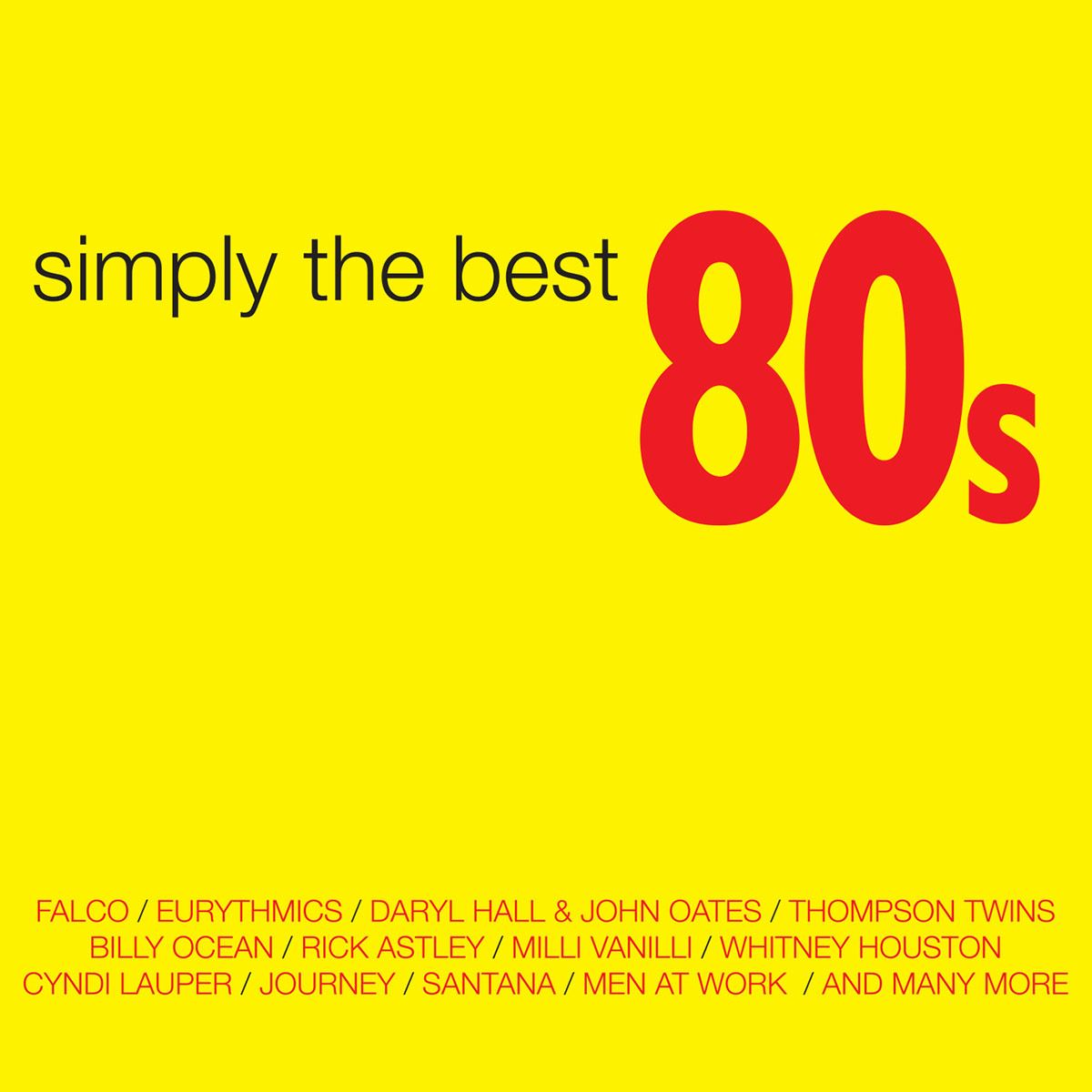 CD2+ DVD Varios- Simply The Best 80s