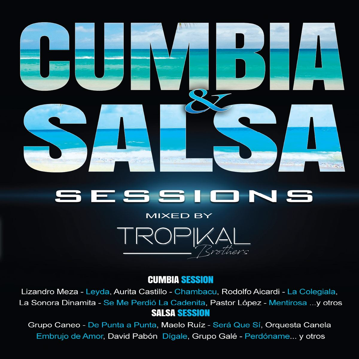 CD2 Varios Cumbia y Salsa Sessions Mixed By Tropikal