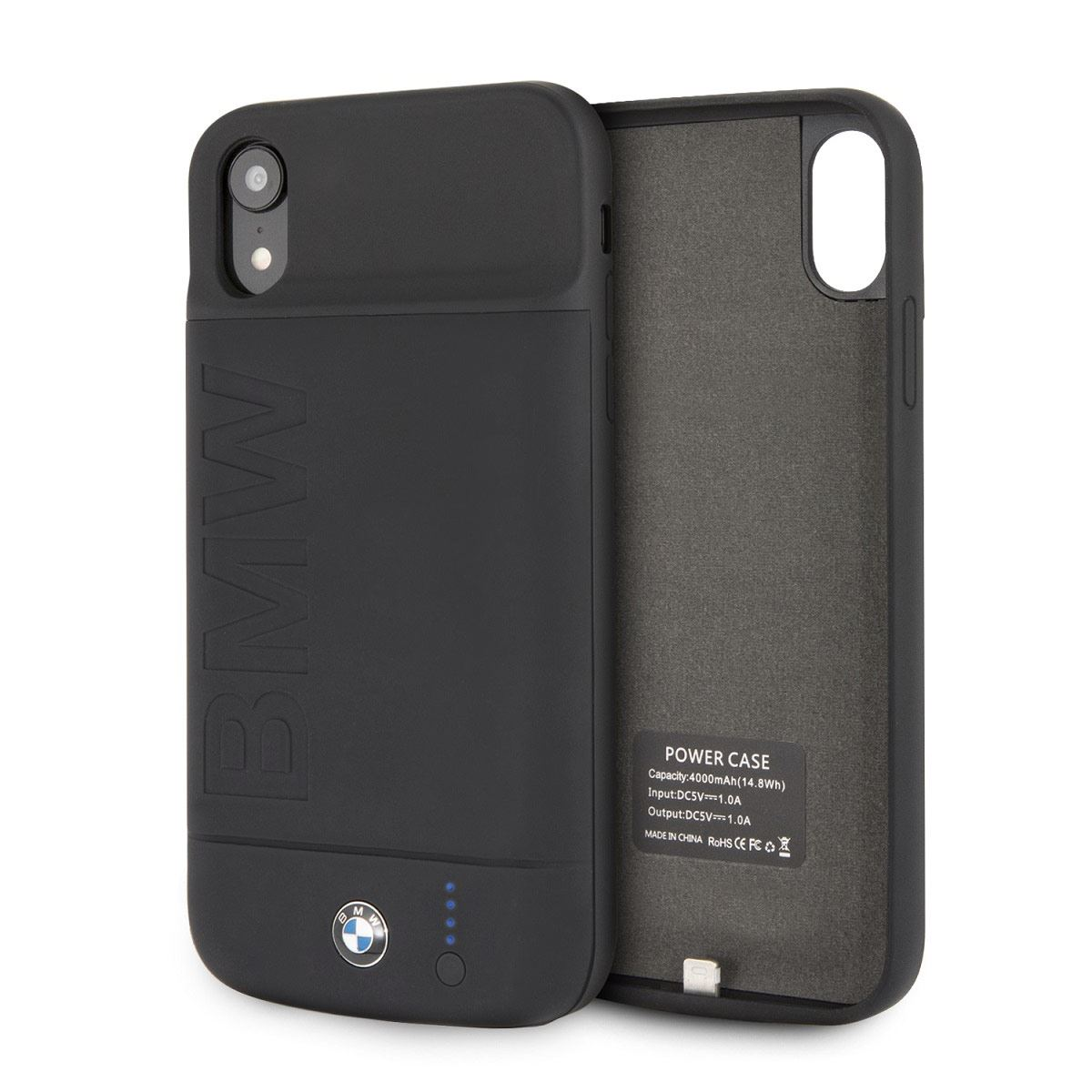 Funda con Batería 3600MHA para iPhone XR Negro BMW