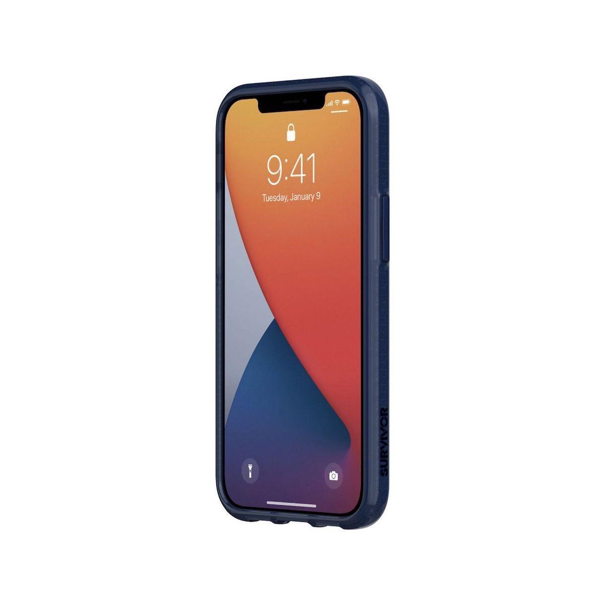 Funda Iphone 12 Mini 5.6 Blue Survivor Azul Marino