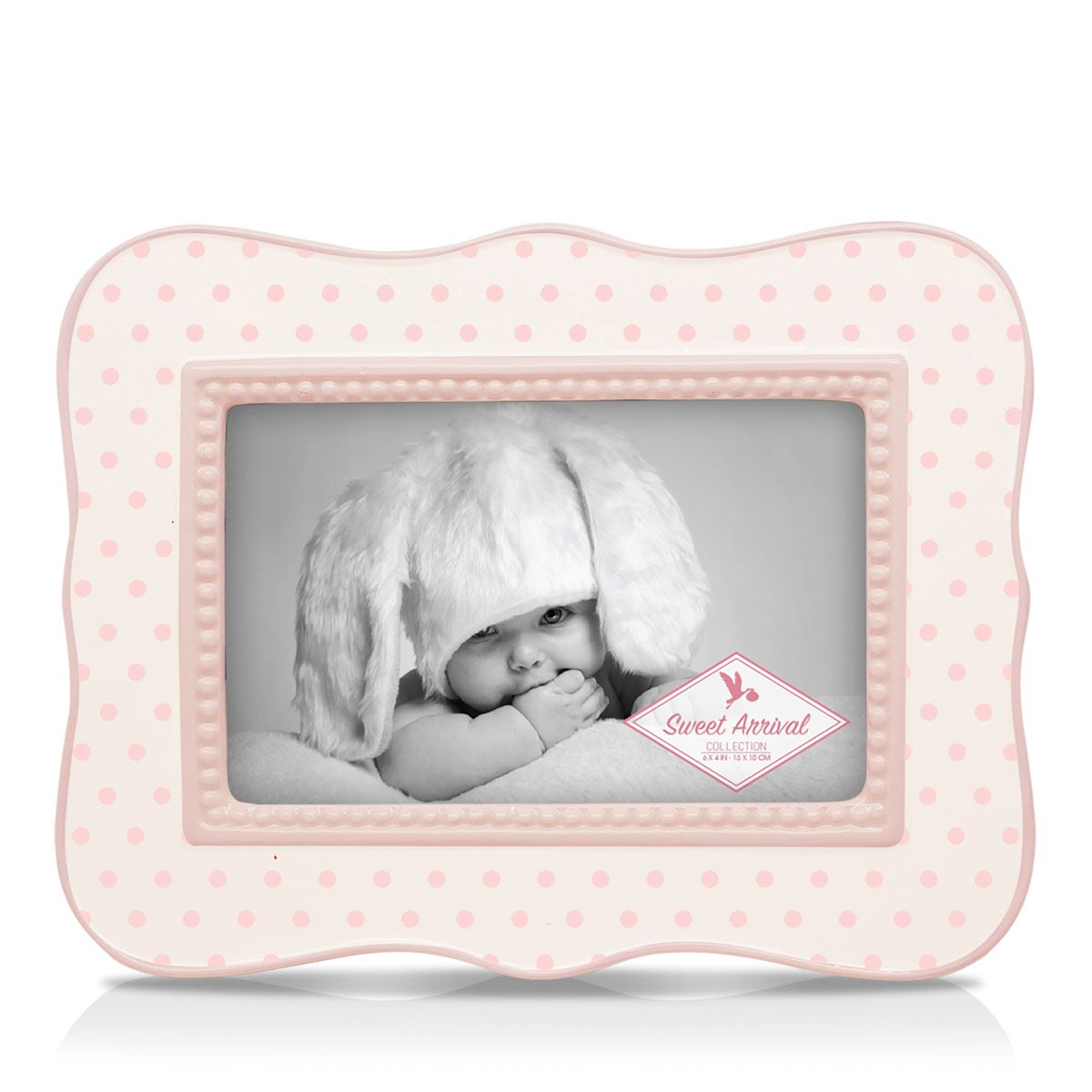 Portarretrato Sweet Dots Frame Argento