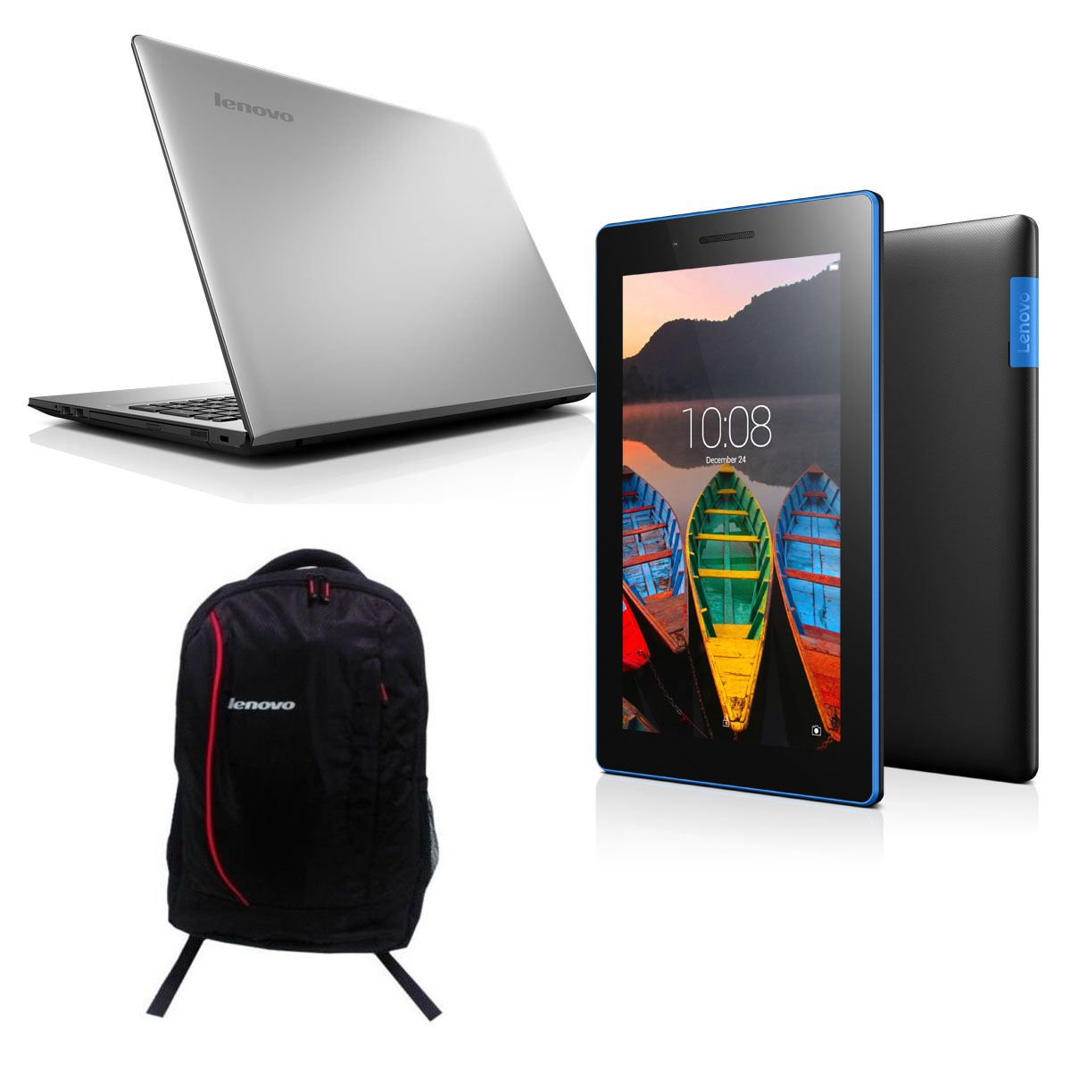 Bundle lenovo laptop+ tab+ mochila  - Sanborns