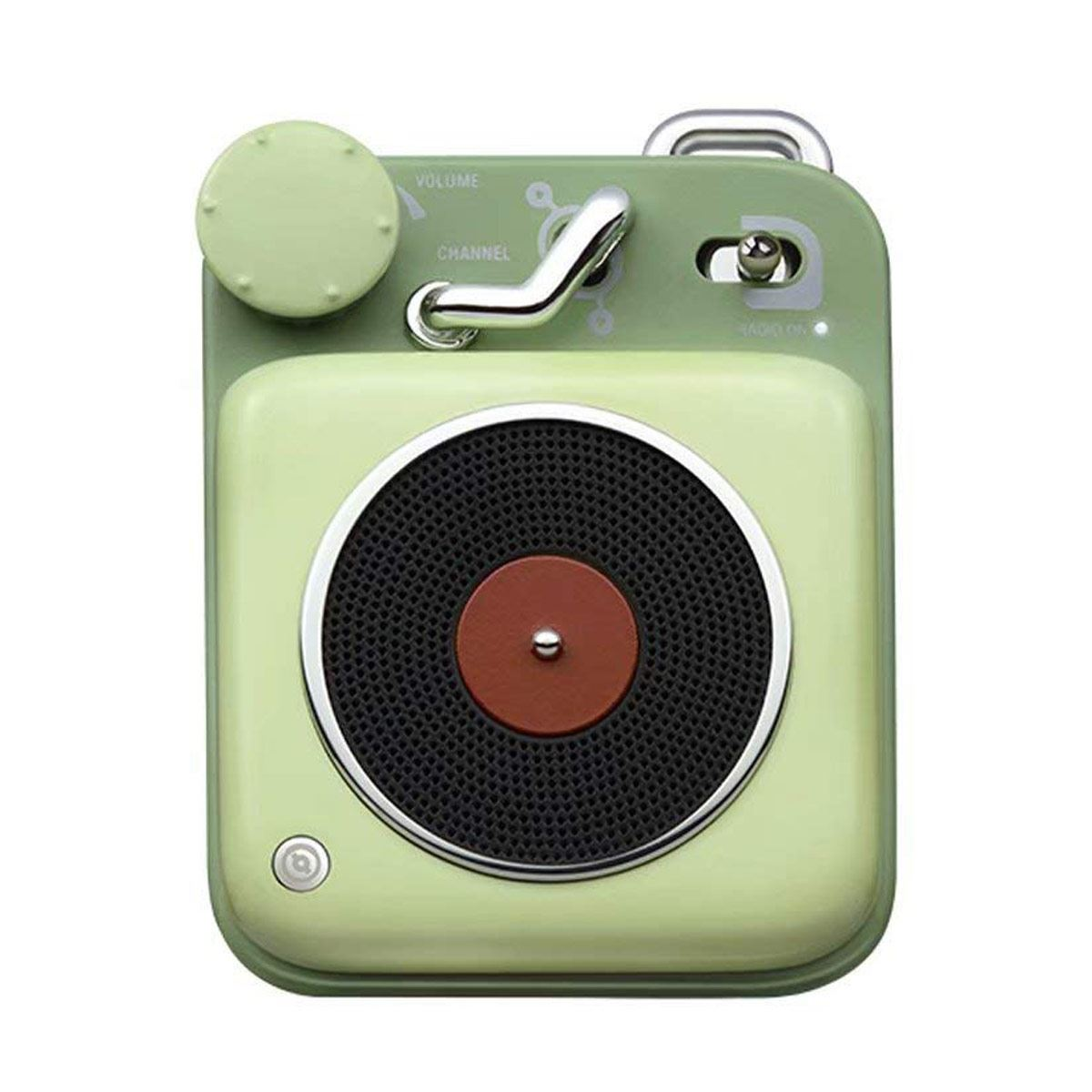 Bocina Button Bluetooth Verde Muzen