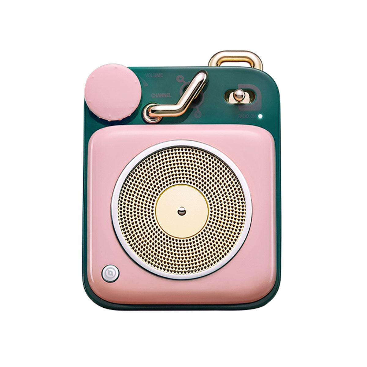 Bocina Button Bluetooth Rosa Muzen