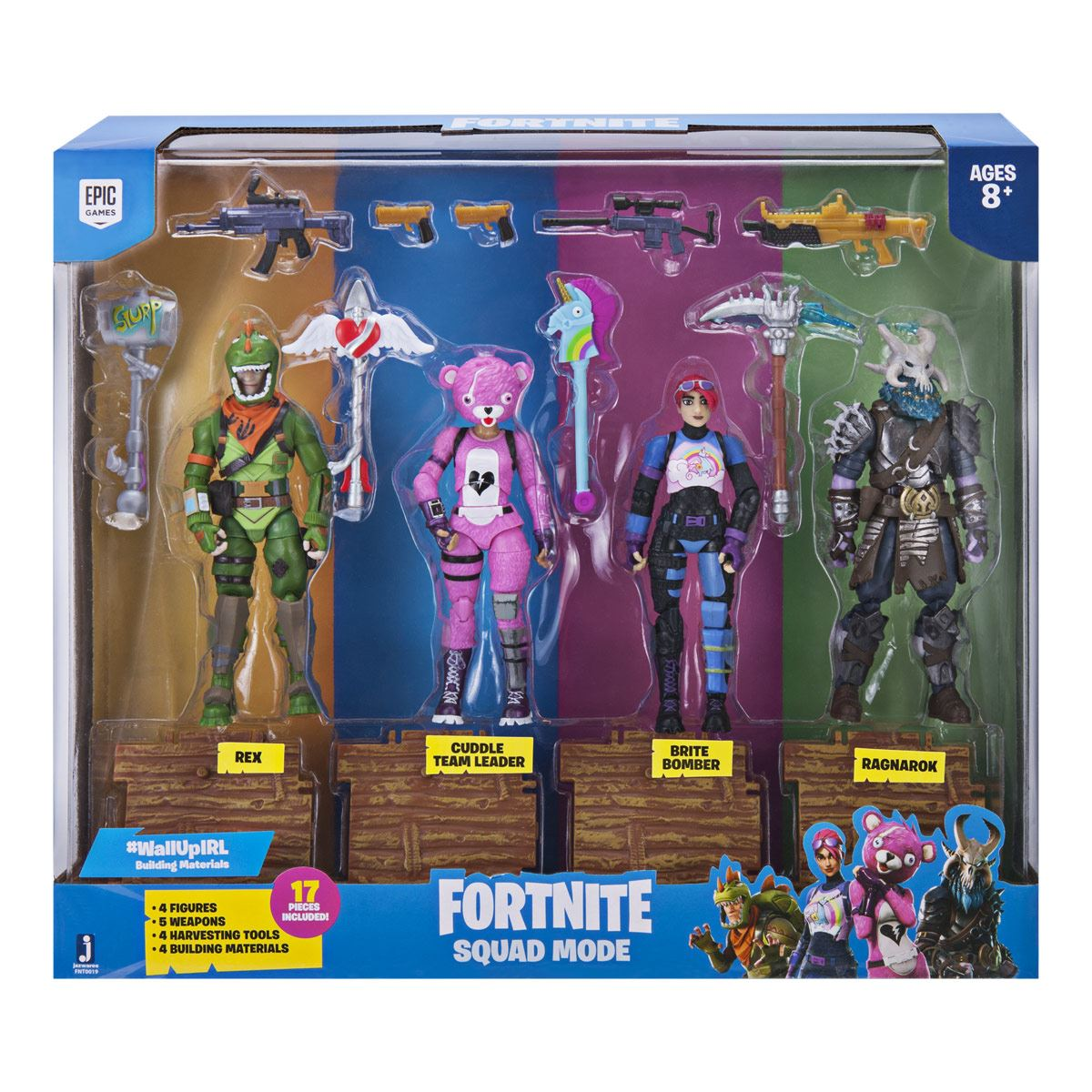 Paquete de Figuras Squad Mode Fortnite
