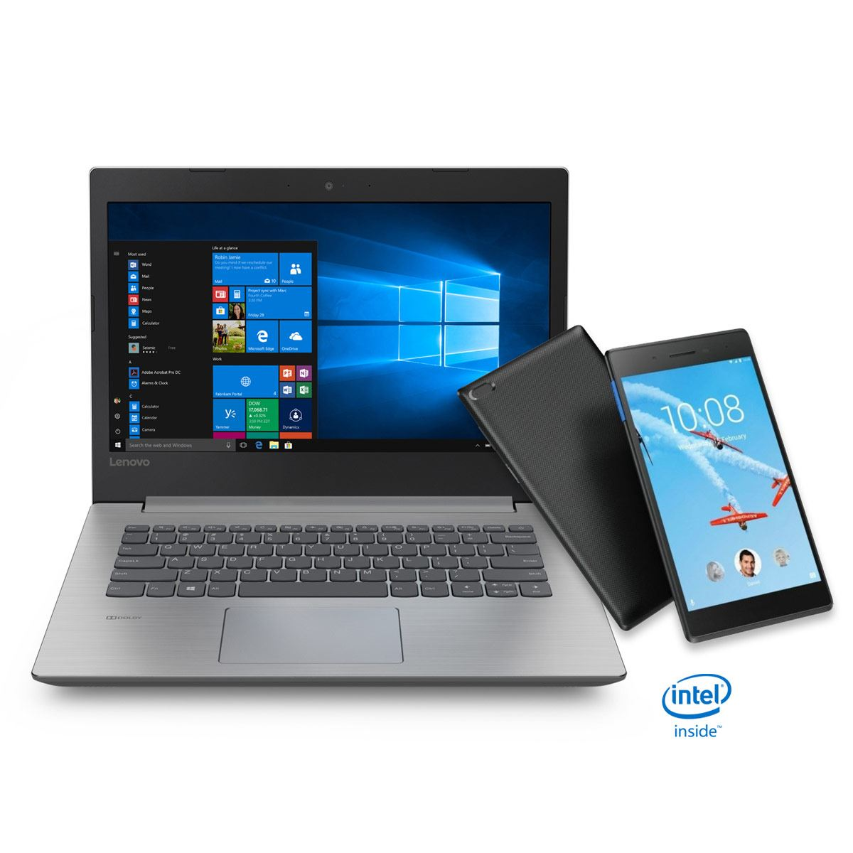 Bundle Laptop Ideapad 330-14AST Lenovo+ Tableta