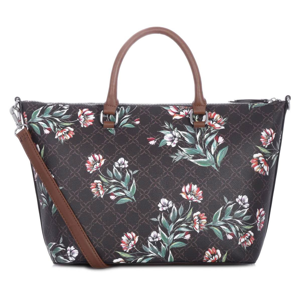 Bolso Nine West Satchel Café Combinado