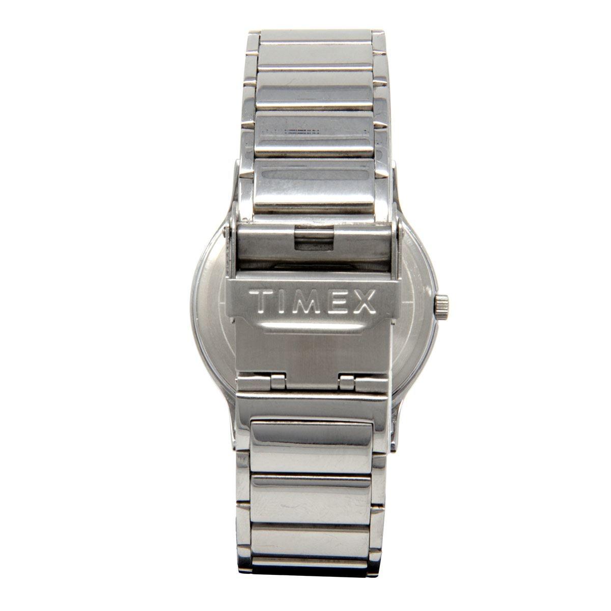 Reloj Timex Plateado TW2U39300 Para Caballero