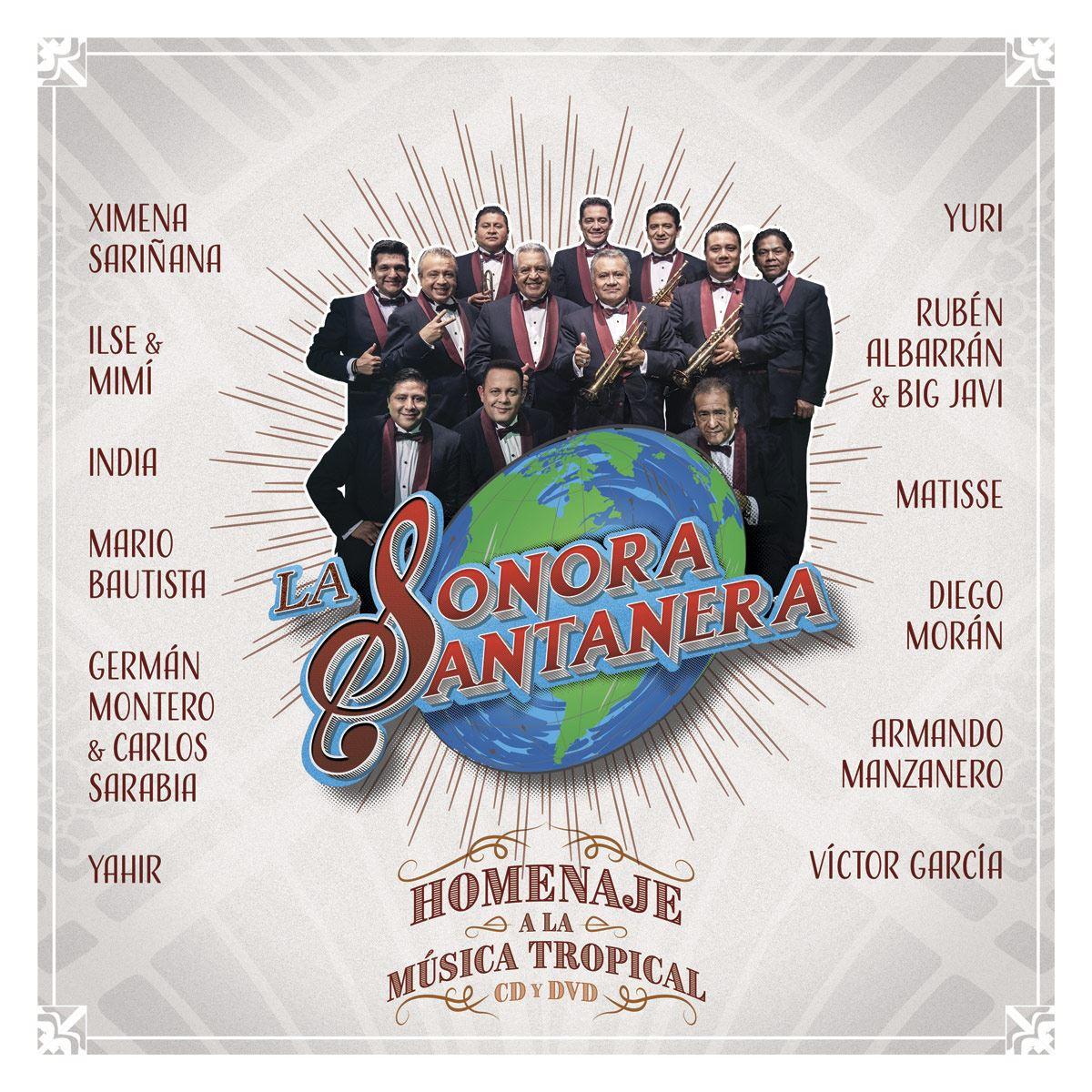 CD La Sonora Santanera - Homenaje a la Música Tropical En Vivo