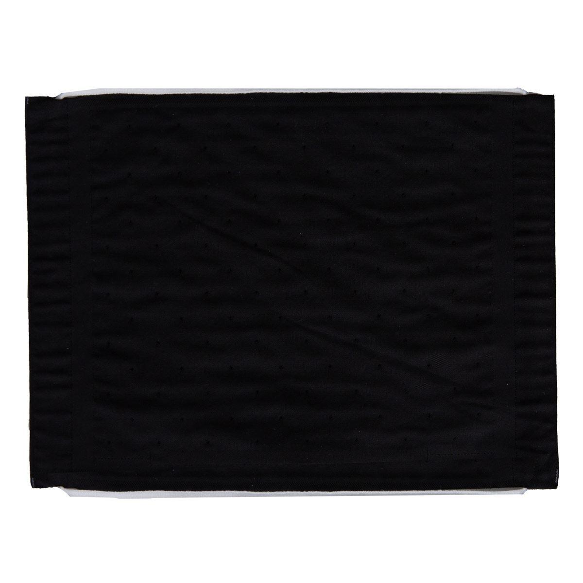 Cubrebocas lavable negro
