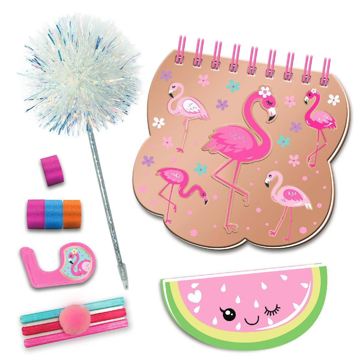Juego de Diario Flamingo