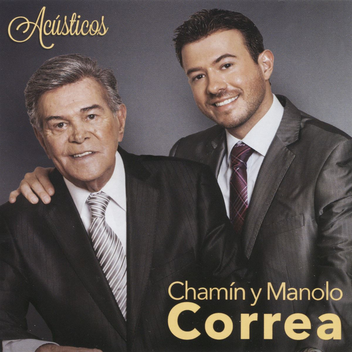 Cd chamín y manolo correa-acústicos  - Sanborns