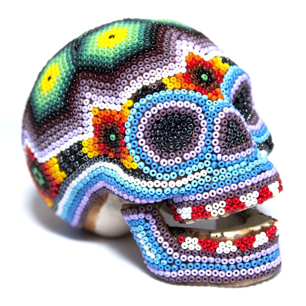 Cráneo Huichol HIXI - Artesanía