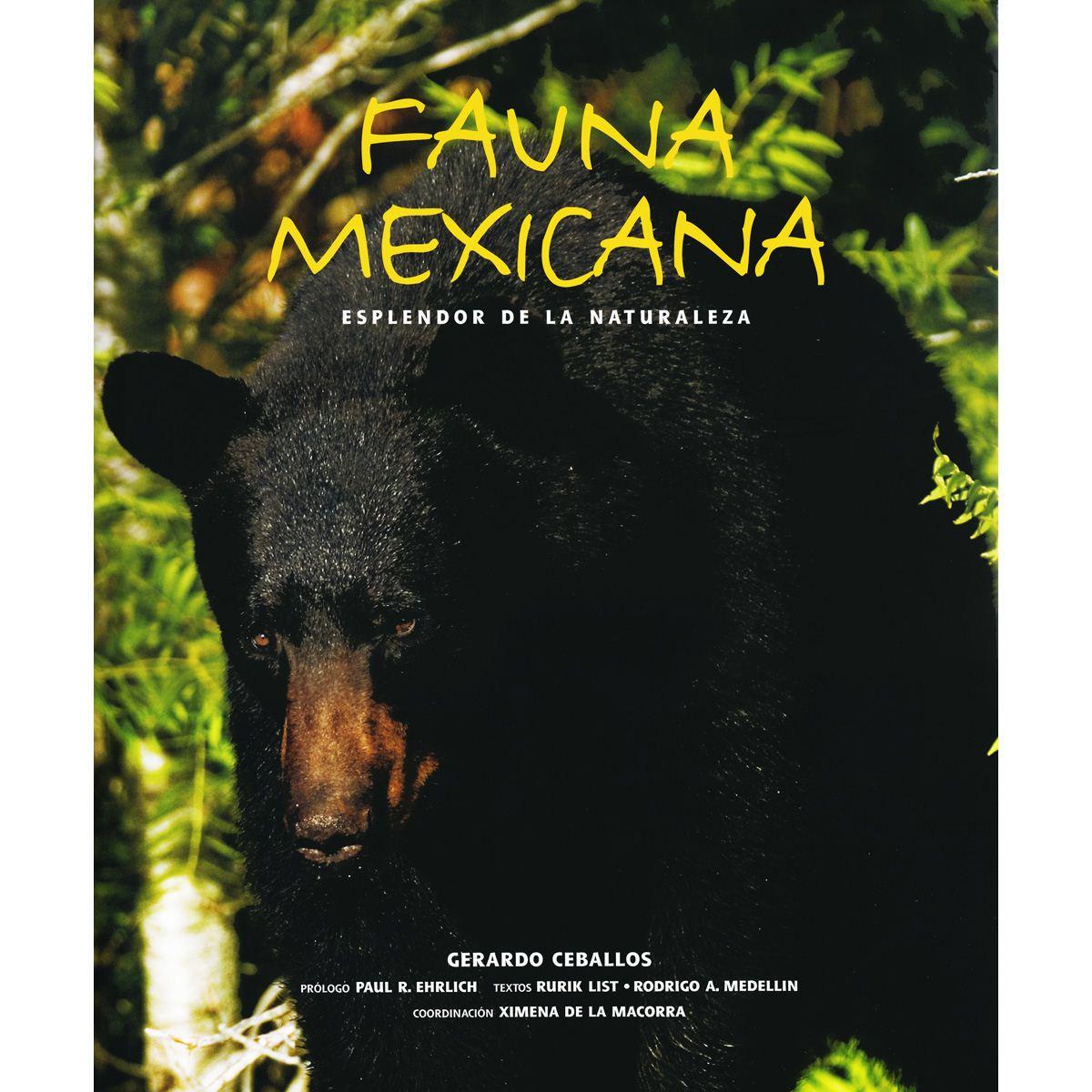 Fauna mexicana esplendor de la naturaleza Libro - Sanborns