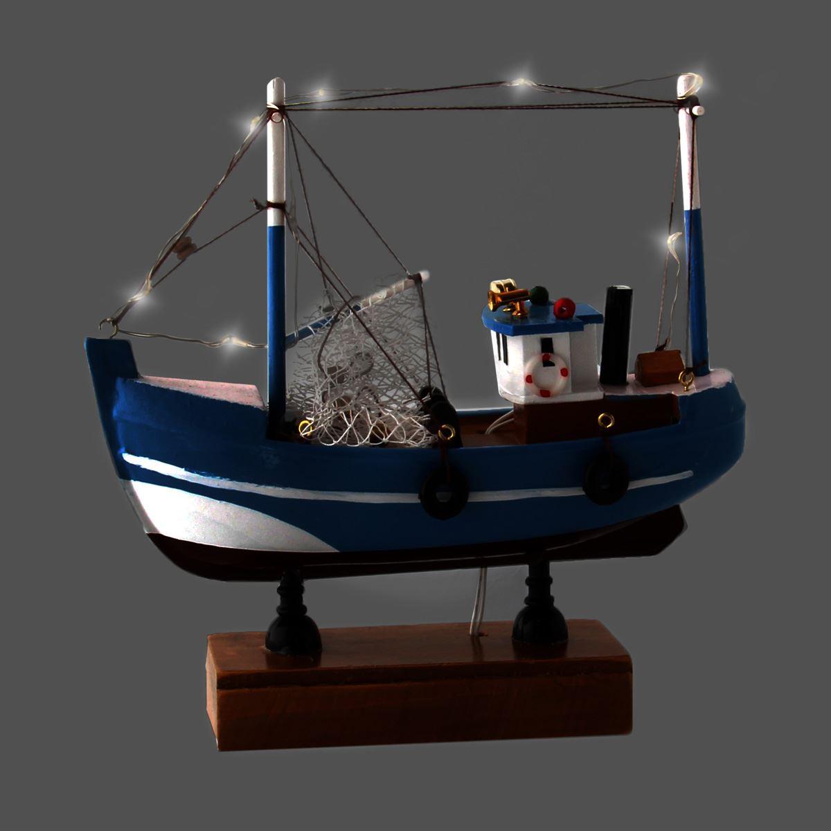 Bote de pesca con luz led  - Sanborns