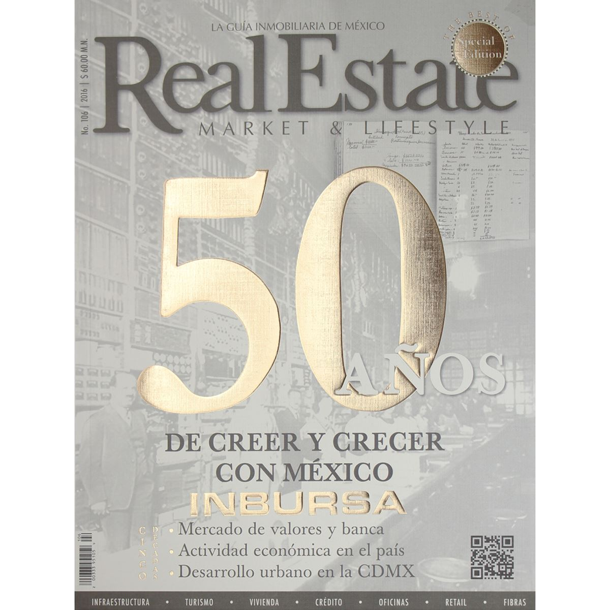 Real estate 50 años Libro - Sanborns