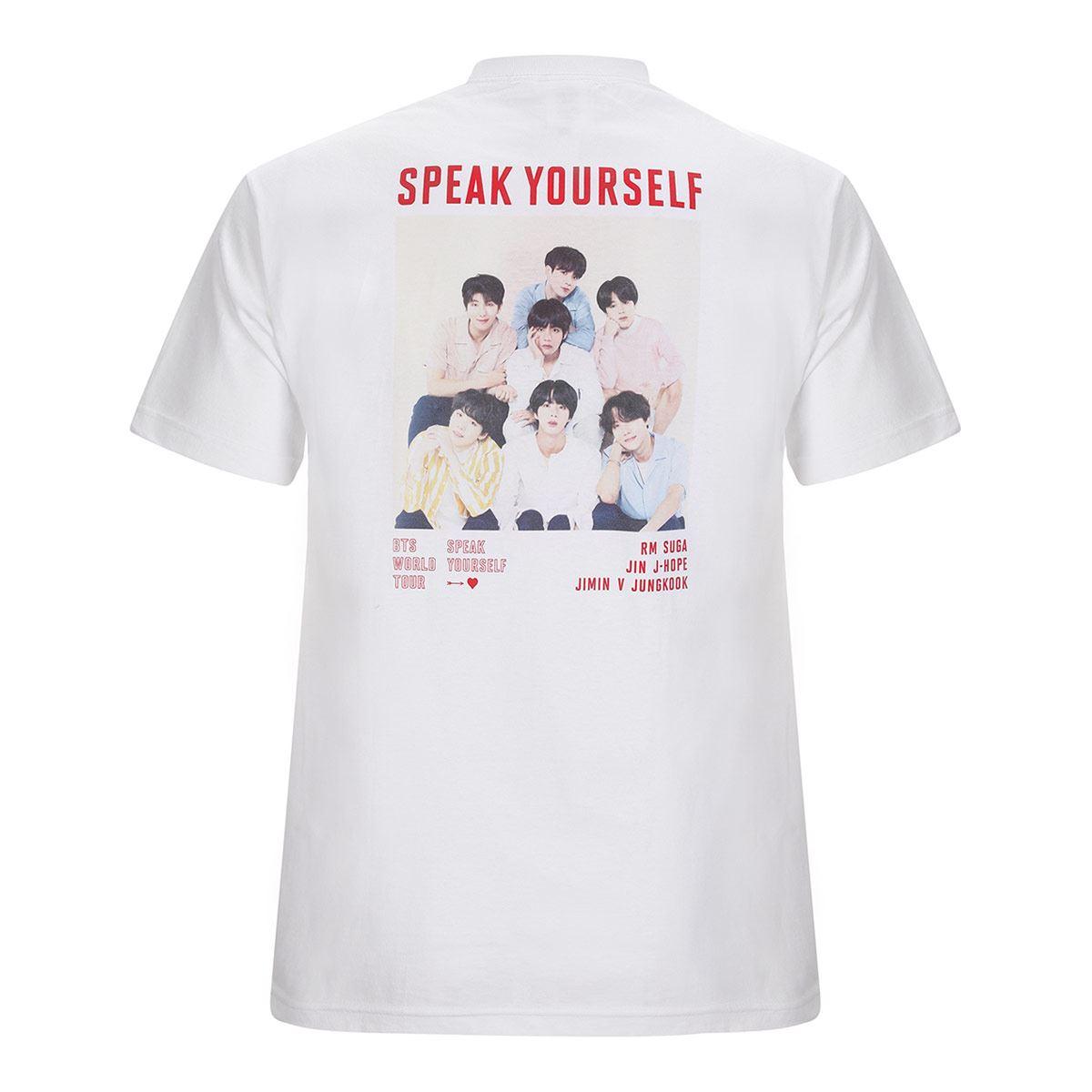 Camiseta [Imagen BTS : Ver.1 Blanco] / T-Shirt [BTS Image : Ver.1 White]