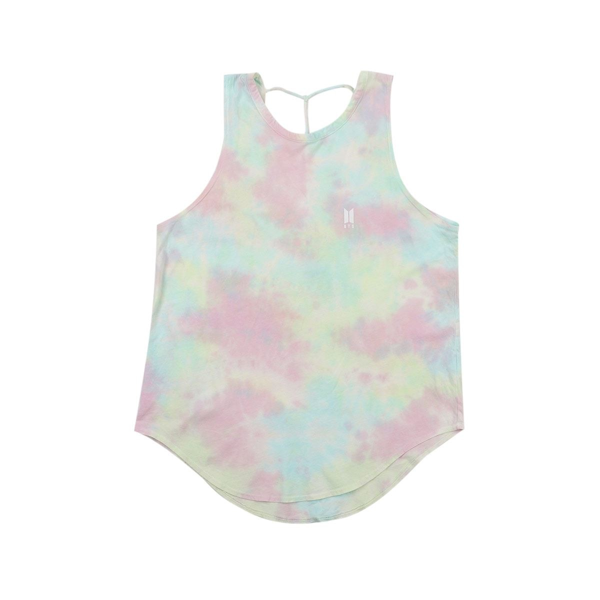 Tanque sin manga [find your name : teñido] / String tank [find your name : tye-dye]