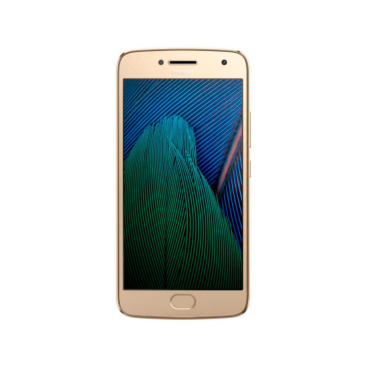 Celular moto g5 plus xt1680 color dorado r9 (telcel)  - Sanborns