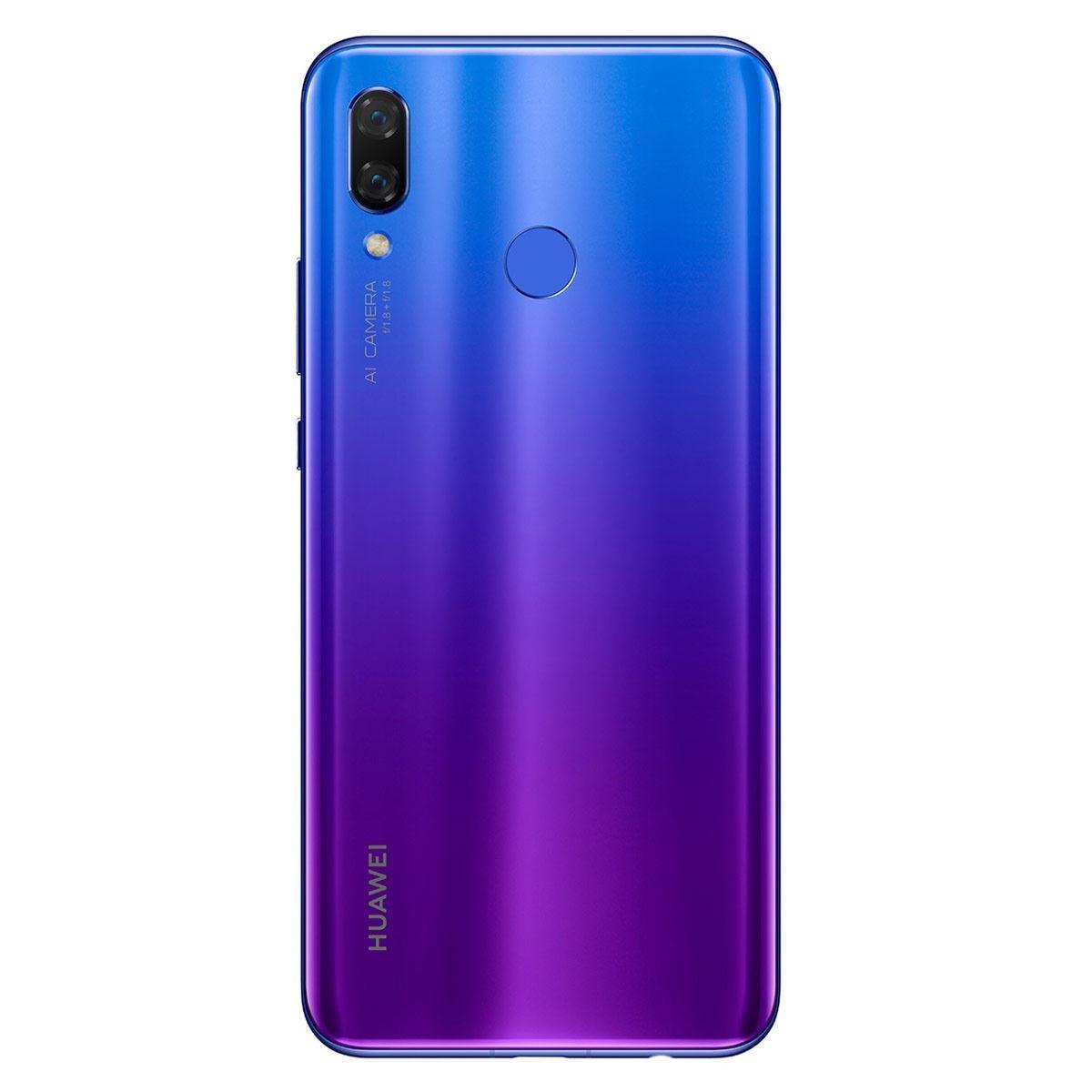 Celular Huawei Par-LX9 Nova 3 Color Morado R9 (Telcel)