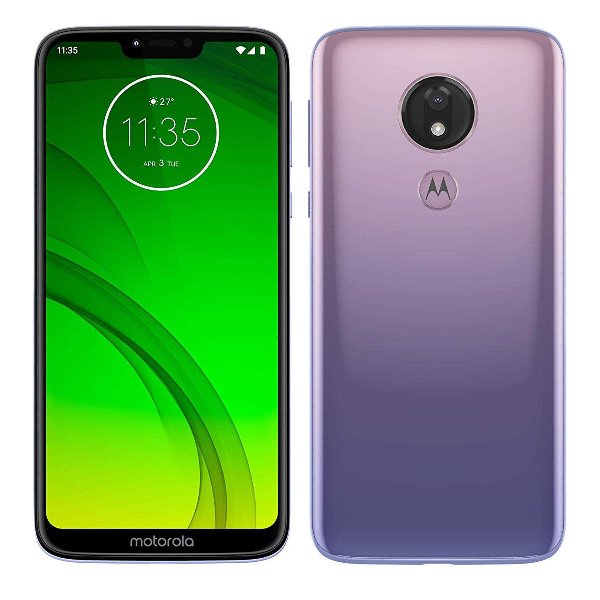 Celular Motorola XT1955-2 G7 Power Color Violeta R9 (Telcel)