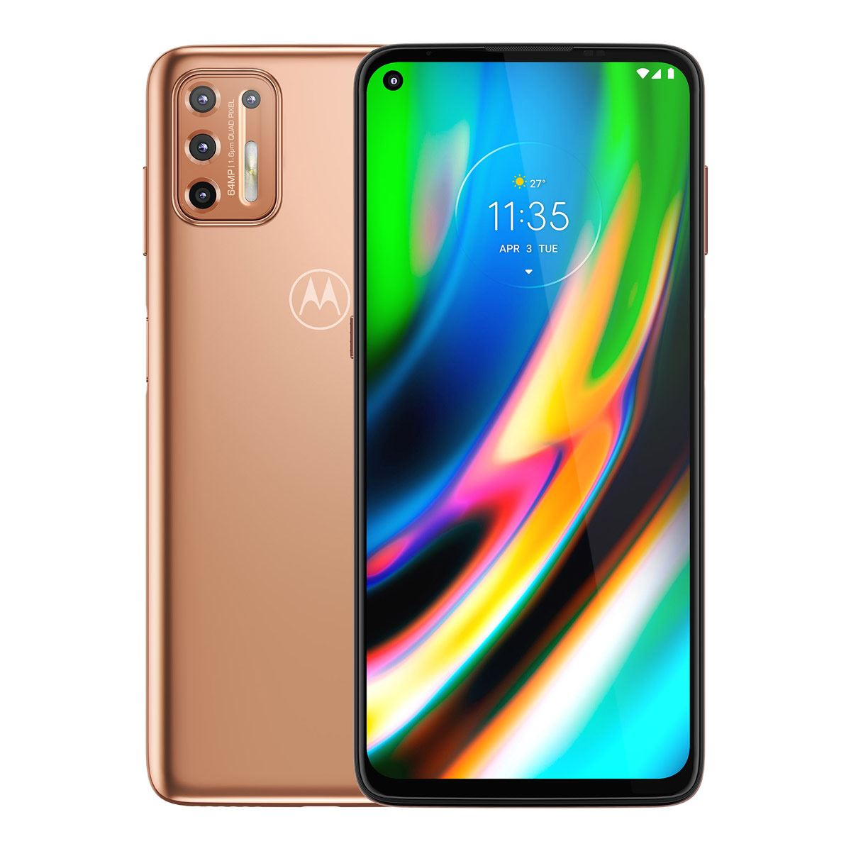 Motorola G9 Plus Rosa R9 Telcel