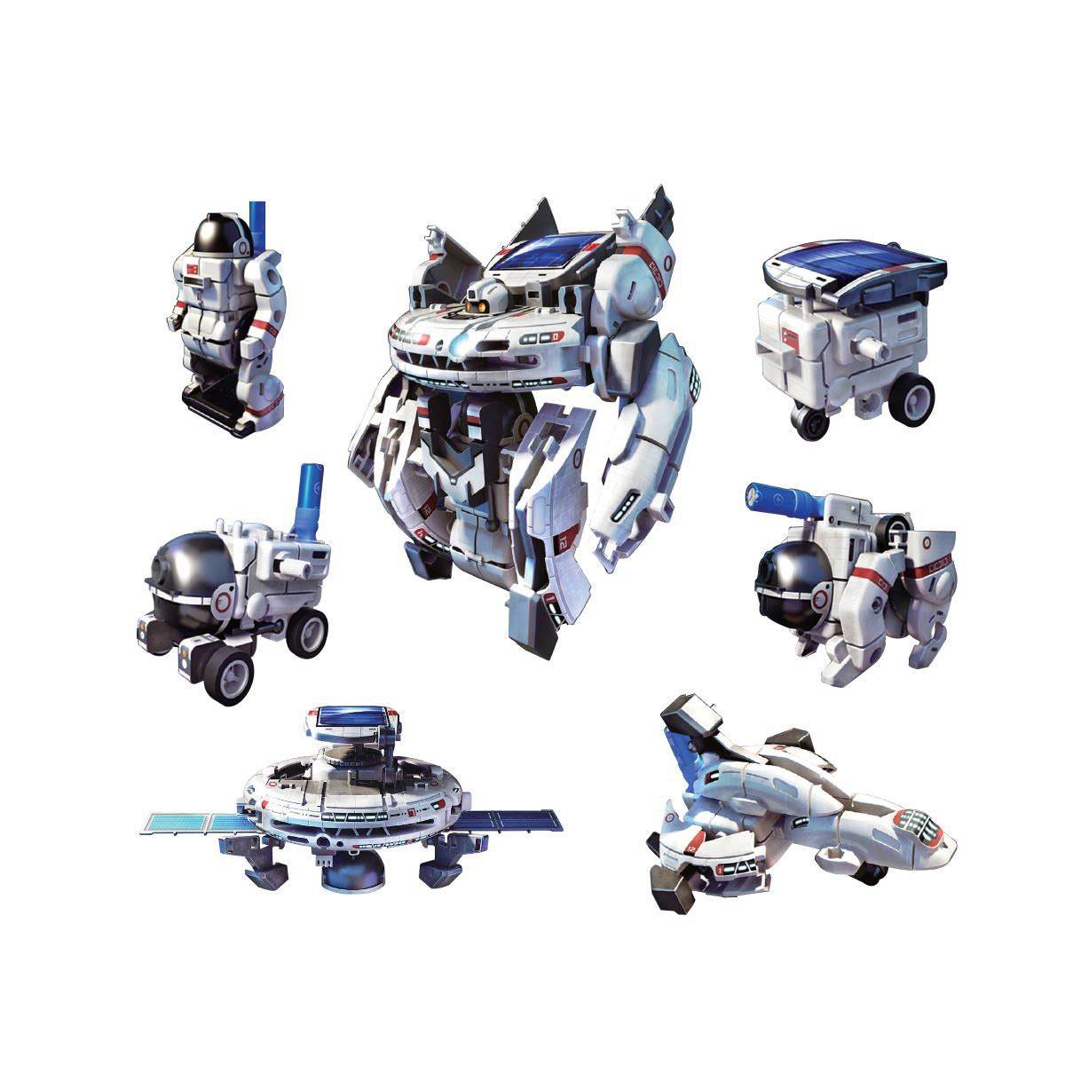 Juego de Mesa Robot Solar 7 en 1 Espacial Imori Kits