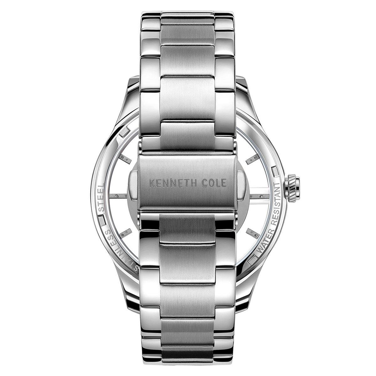 Reloj Kenneth Cole NY Plata KC50919004 Para Caballero