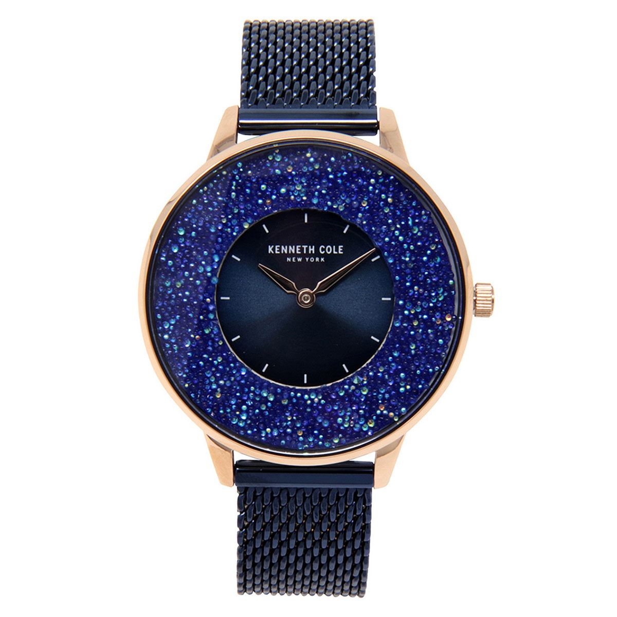 Reloj Kenneth Cole NY Azul KC51010001 Para Dama