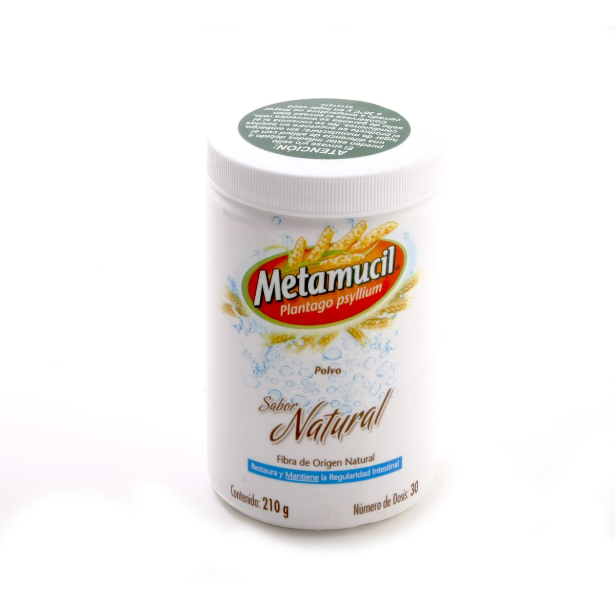 Metamucil Polvo Sabor Natural 210 gr