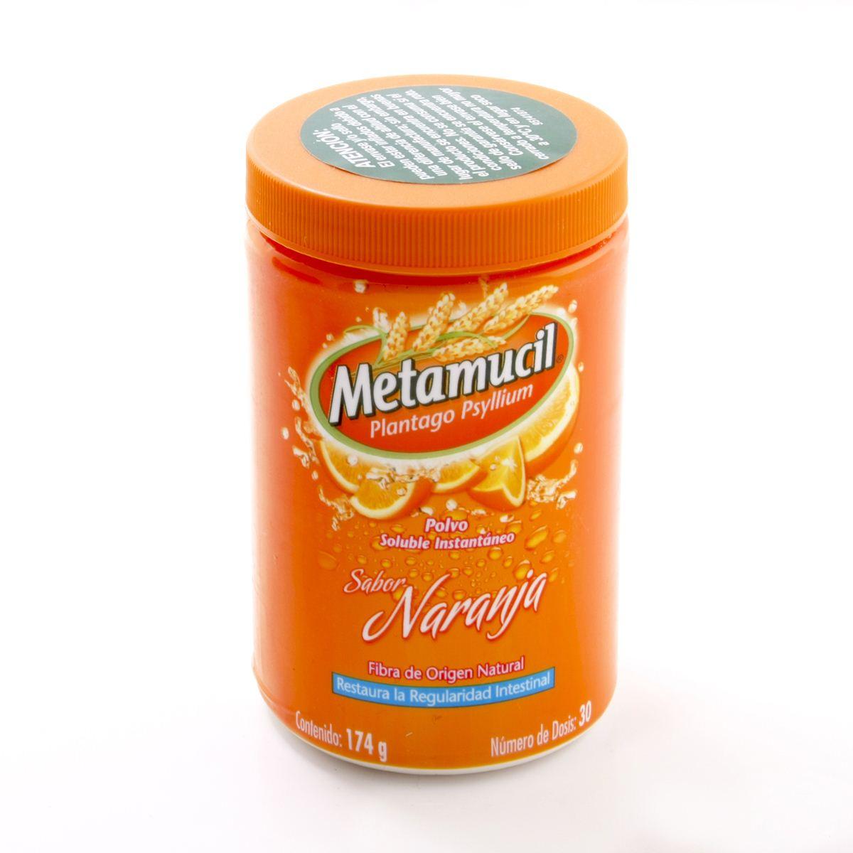 Metamucil Polvo 174 gr Naranja