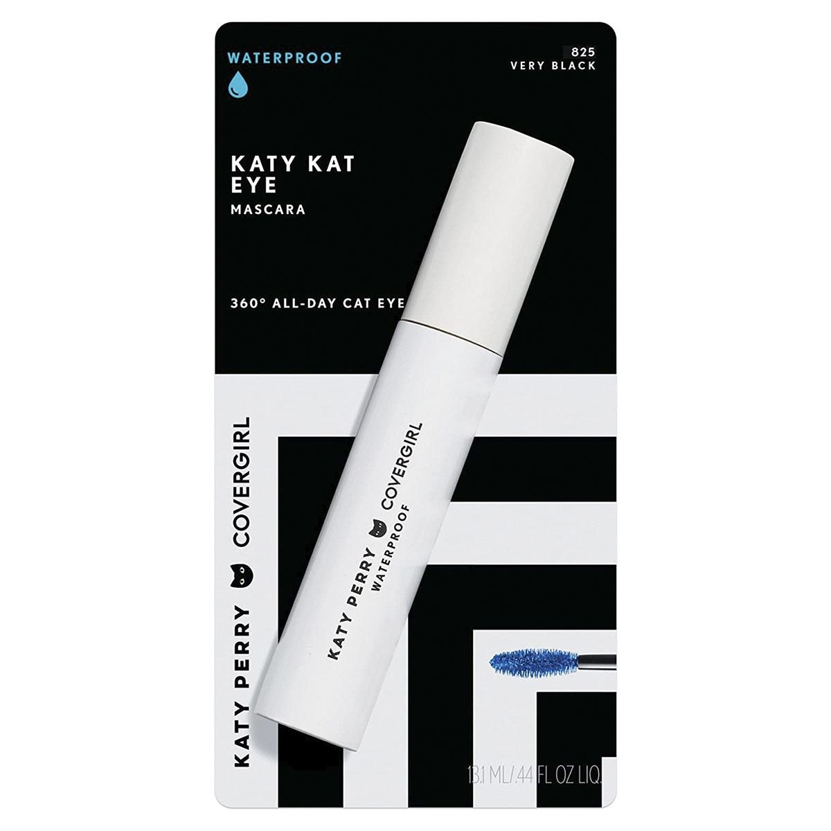 Katy Kat Eye Wp Mascara  Very Black