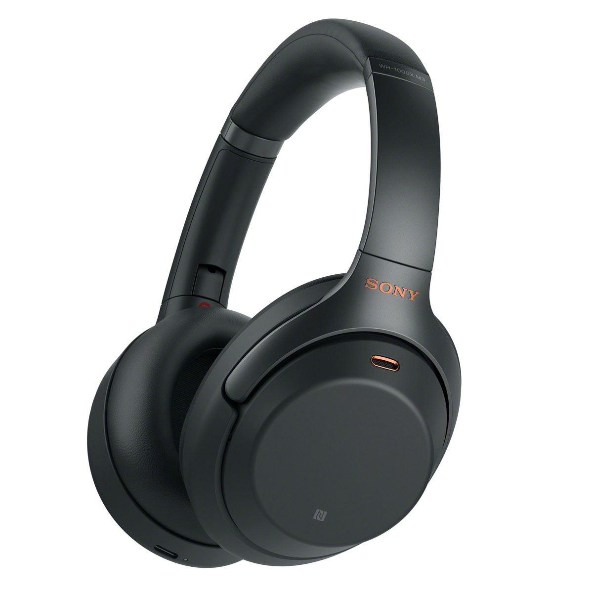 Audífonos Sony Inalámbricos Bluetooth Negros
