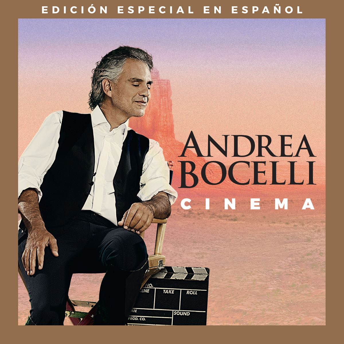 Cd andrea bocelli- cinema special edition  - Sanborns