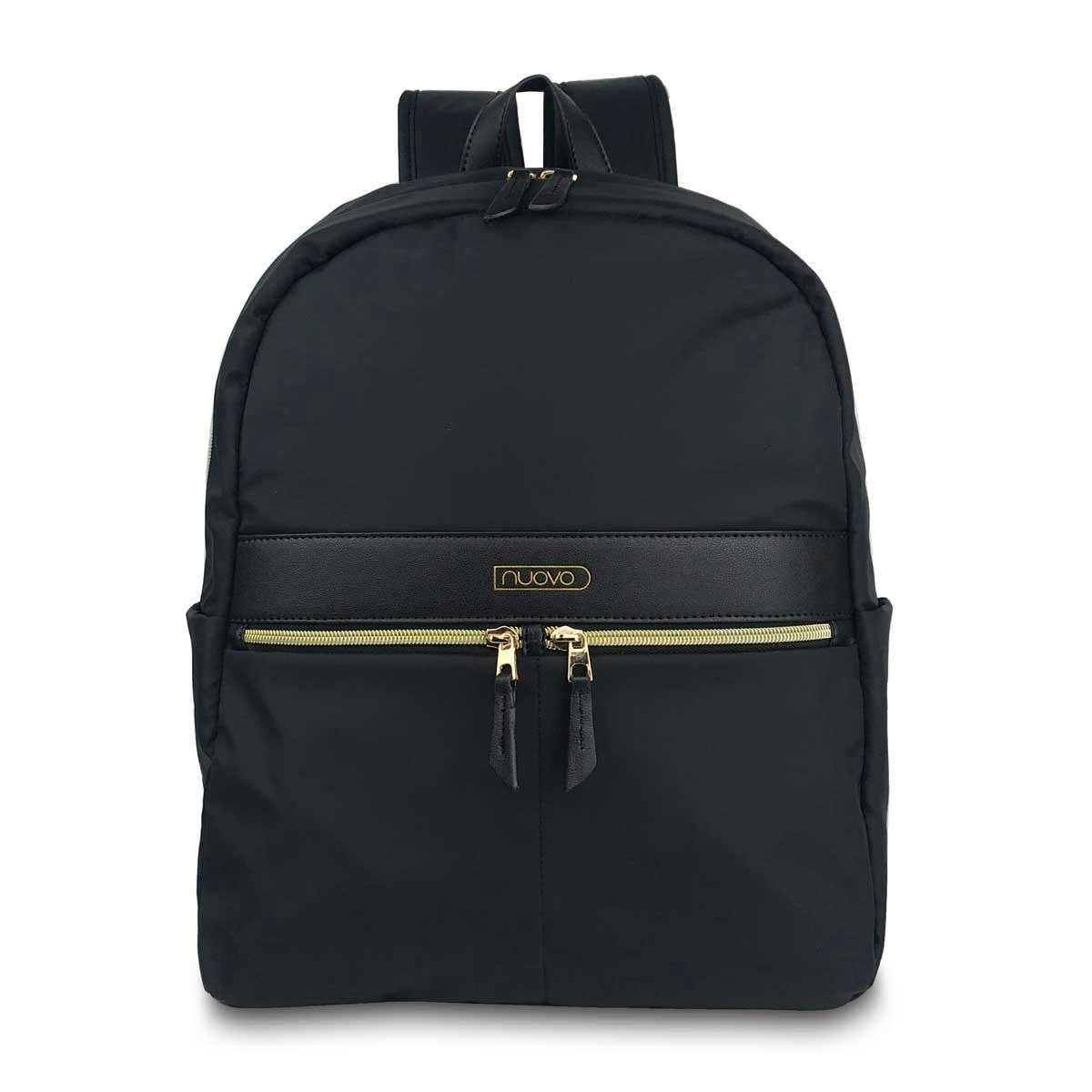 Back Pack Prim Negro Liso B201817 Nuovo